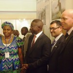 Visit of Min for Water Resources Sarah Ochekpe and Pape Diouf Senegalese Min of W&S